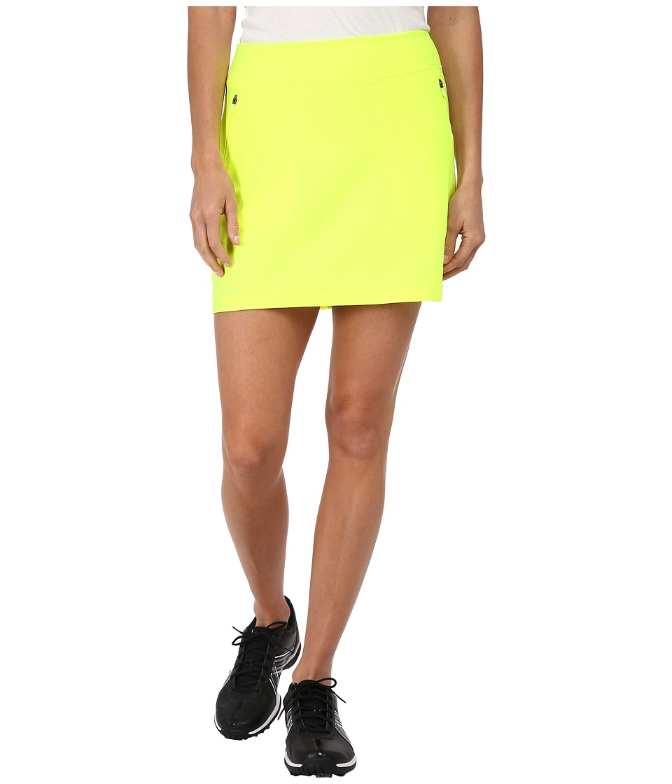 Nike Golf - No-Sew Skort (Volt/Volt) Women