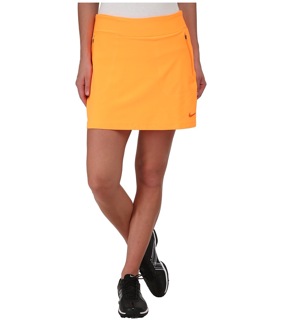 Nike Golf - No-Sew Skort (Bright Citrus/Electro Orange) Women's Skort