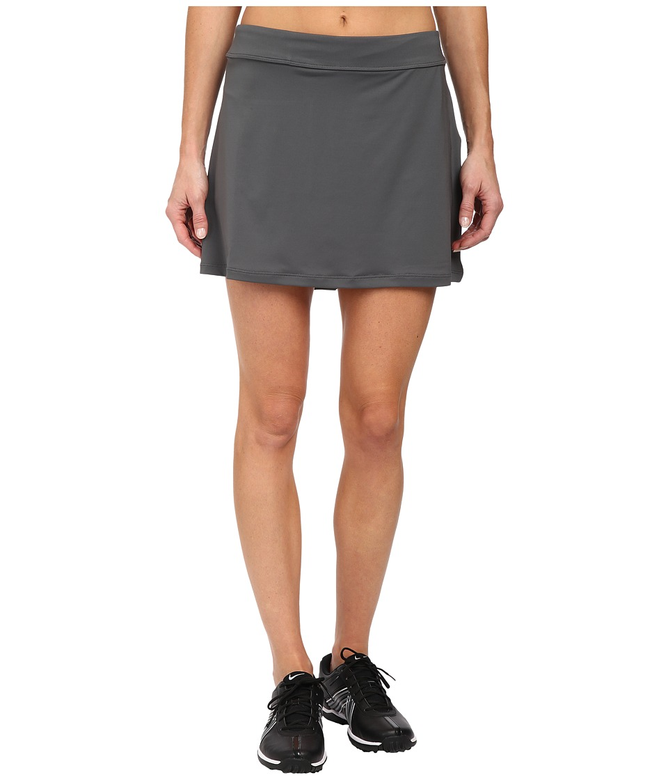 Nike Golf - Nike Short Fairway Drive Skort (Dark Grey/Dark Grey/Wolf Grey) Women's Skort