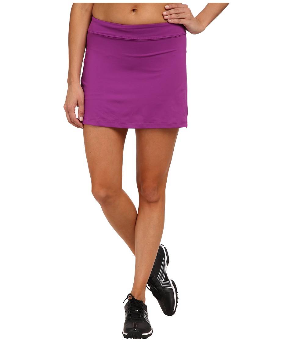 Nike Golf - Nike Short Fairway Drive Skort (Purple Dusk/Purple Dusk/Wolf Grey) Women's Skort