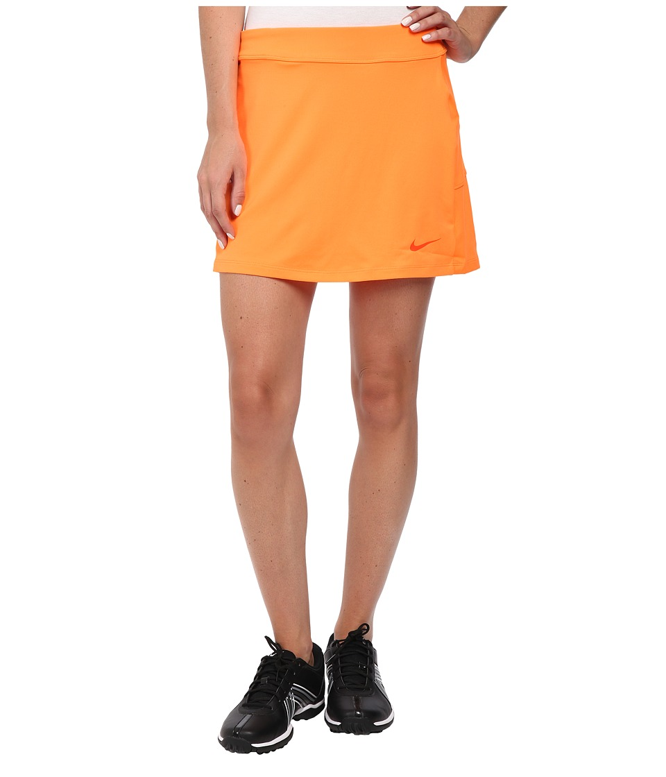 Nike Golf - Nike Short Fairway Drive Skort (Bright Citrus/Bright Citrus/Electro Orange) Women's Skort