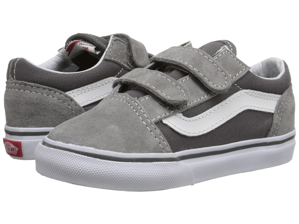 Vans Kids - Old Skool V (Toddler) ((Surplus) Frost Grey/Pewter) Boys Shoes