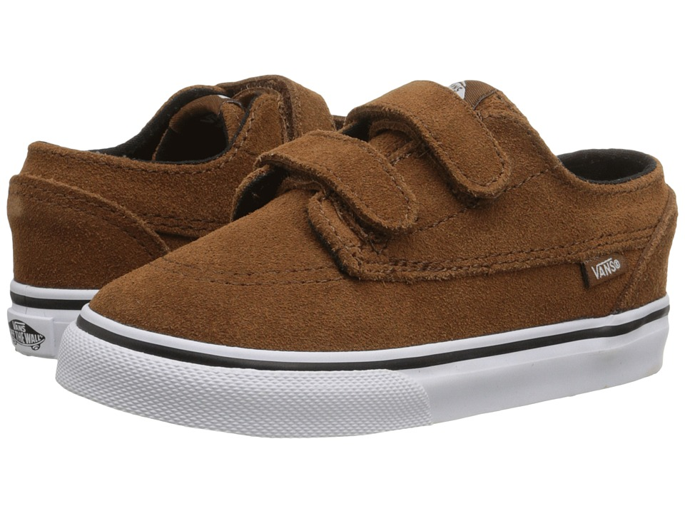 Vans Kids - Brigata V (Toddler) ((Suede) Monks Robe) Boys Shoes