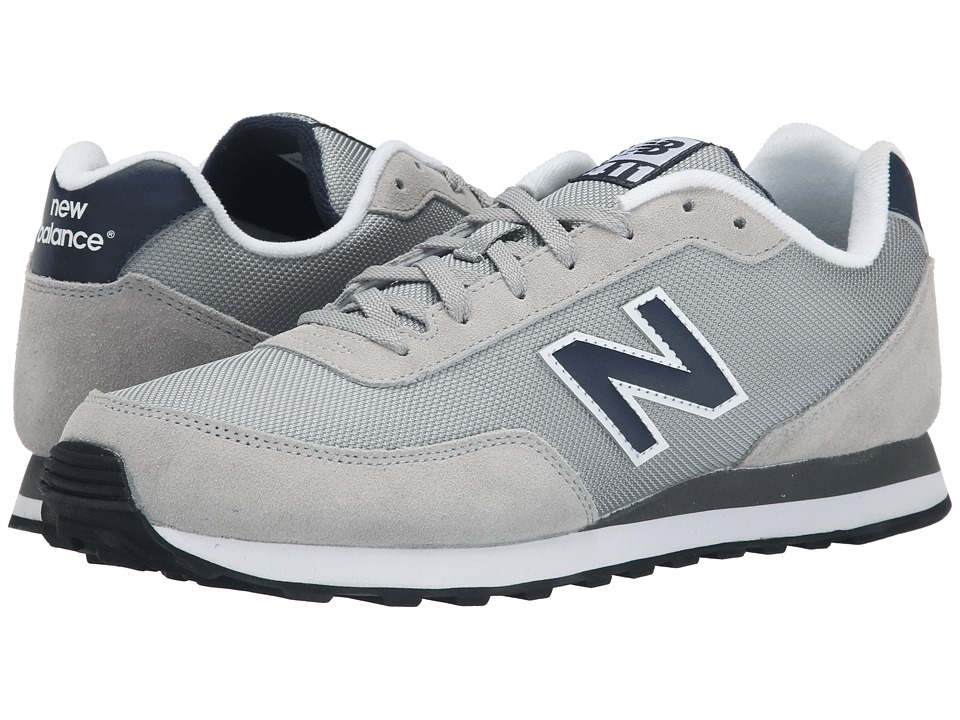 New Balance - ML411 (Grey) Men's Shoes