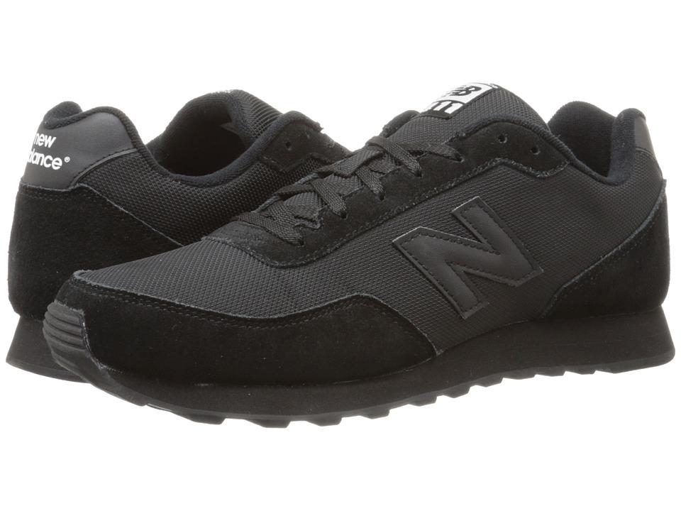 New Balance - ML411 (Black) Men's Shoes