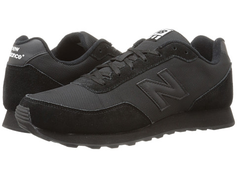 New Balance - ML411 (Black) Men's Shoes