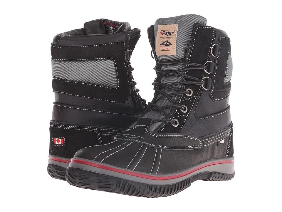 Pajar CANADA - Tuscan No Fur (Black) Men's Hiking Boots
