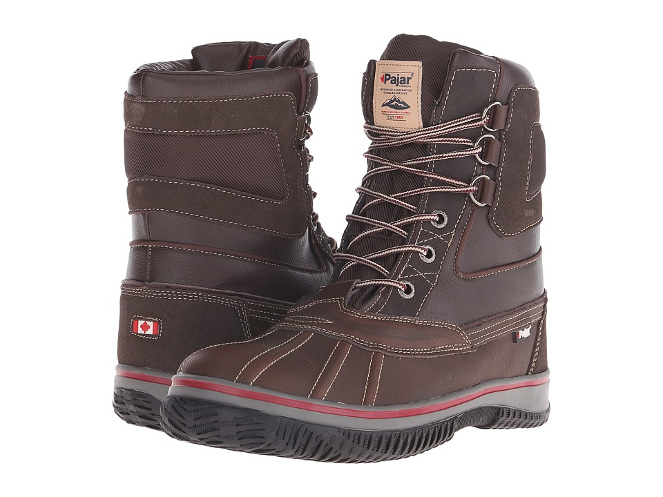 Pajar CANADA - Tuscan No Fur (Dark Brown) Men's Hiking Boots