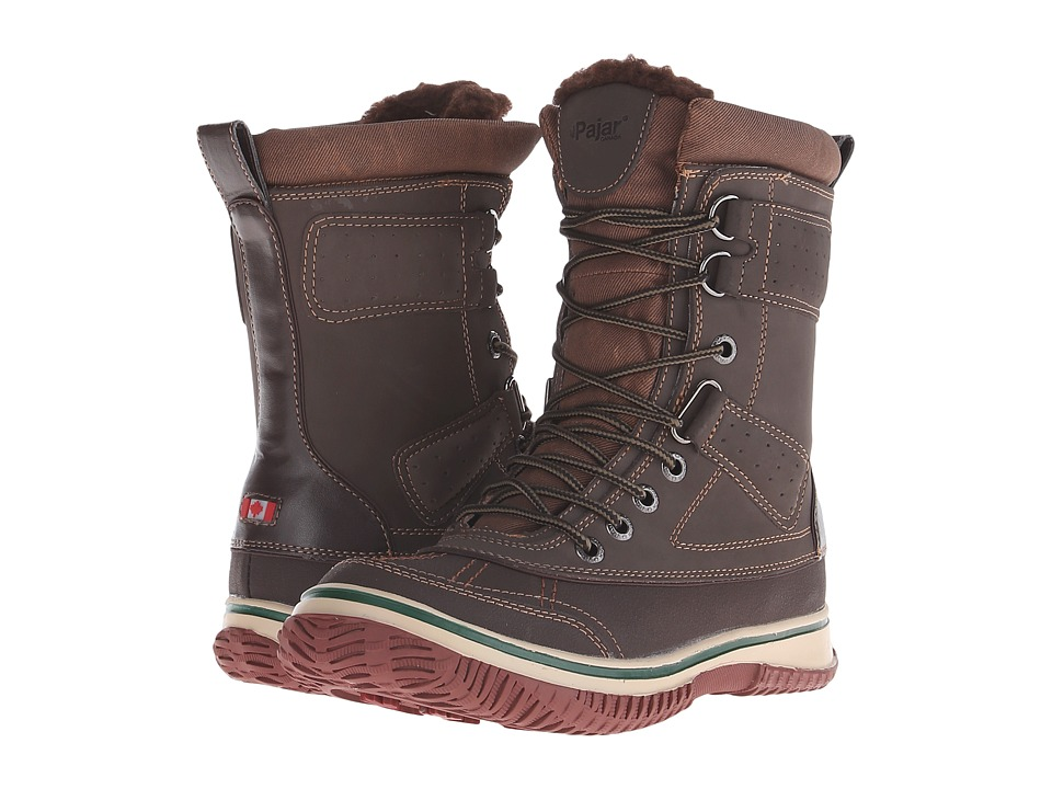Pajar CANADA - Gash (Dark Brown) Men's Hiking Boots