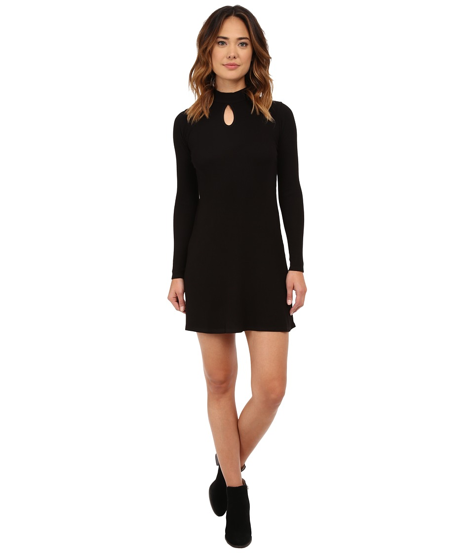 RVCA - Into First Dress (Black) Women's Dress