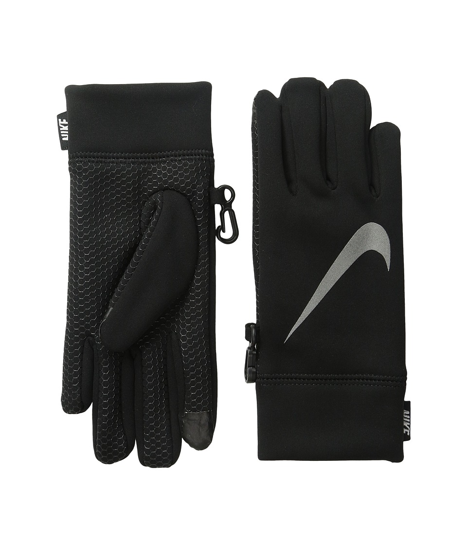 Nike Kids - Therma Reflect Glove (Big Kids) (Black/Reflective Silver) Extreme Cold Weather Gloves