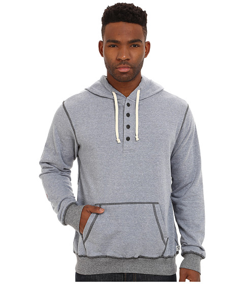 UNIONBAY - Taylor Long Sleeve French Terry Henley with Hood (Element) Men