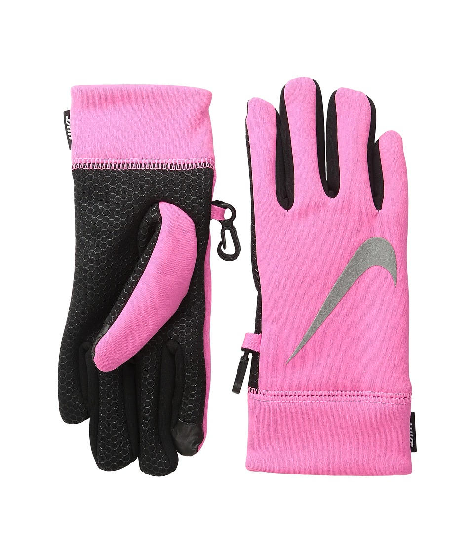Nike Kids Therma Reflect Glove (Big Kids) (Pink Pow) Extreme Cold Weather Gloves