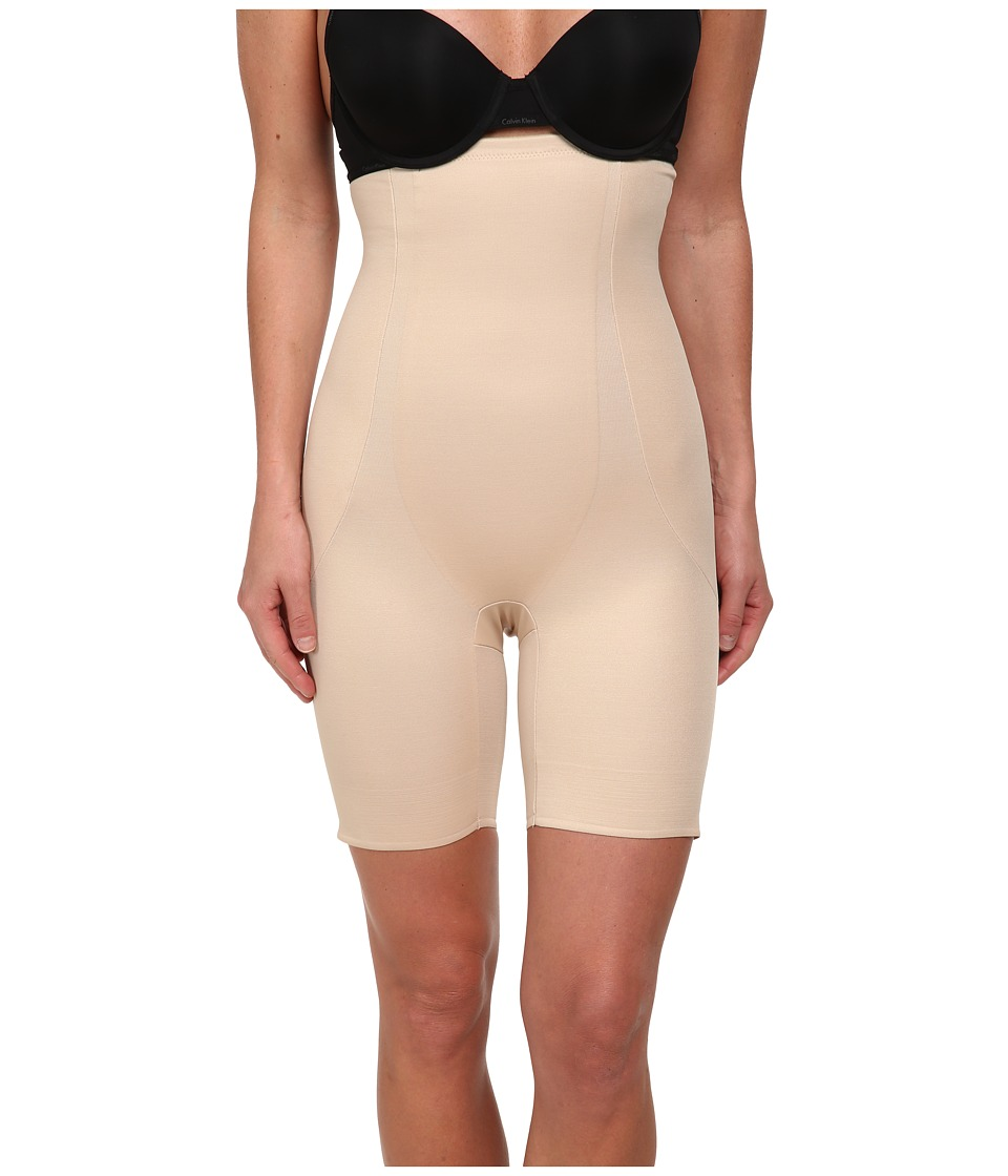 Miraclesuit Shapewear - Long Torso High Waist Thigh Slimmer (Nude) Women's Underwear