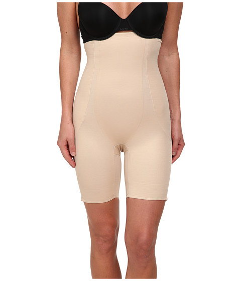 Miraclesuit Shapewear - Long Torso High Waist Thigh Slimmer (Nude) Women