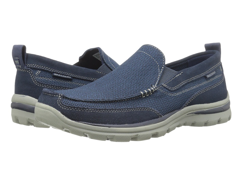 SKECHERS - Relaxed Fit Superior - Milford (Navy) Men