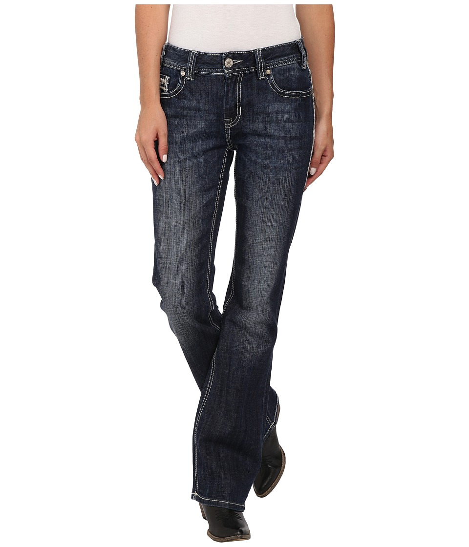 Rock and Roll Cowgirl - Mid Rise Bootcut in Medium Vintage W1-4499 (Medium Vintage) Women's Jeans
