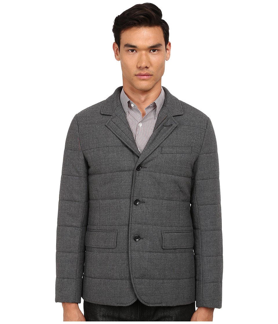 Vince - Quilted Blazer (Heather Carbon) Men