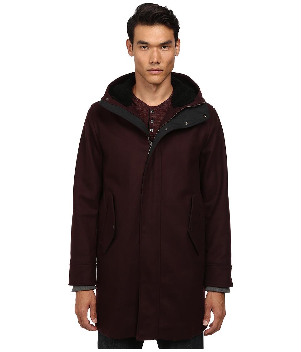 Vince - Parka Jacket (Cordovan) Men's Coat