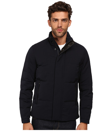 Vince - Down Quilted Jacket (Navy) Men's Coat