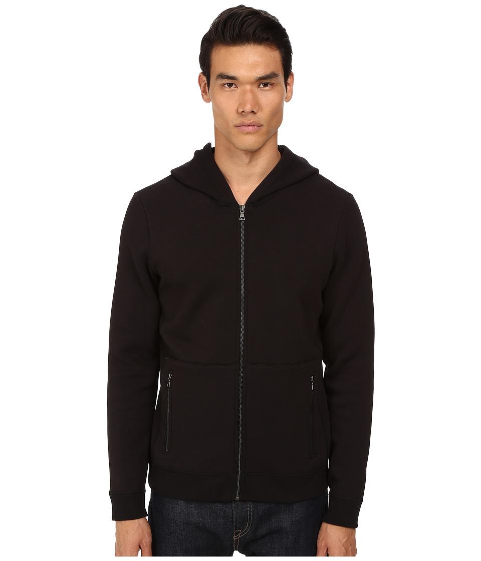 Vince - Hoodie (Black) Men's Sweatshirt