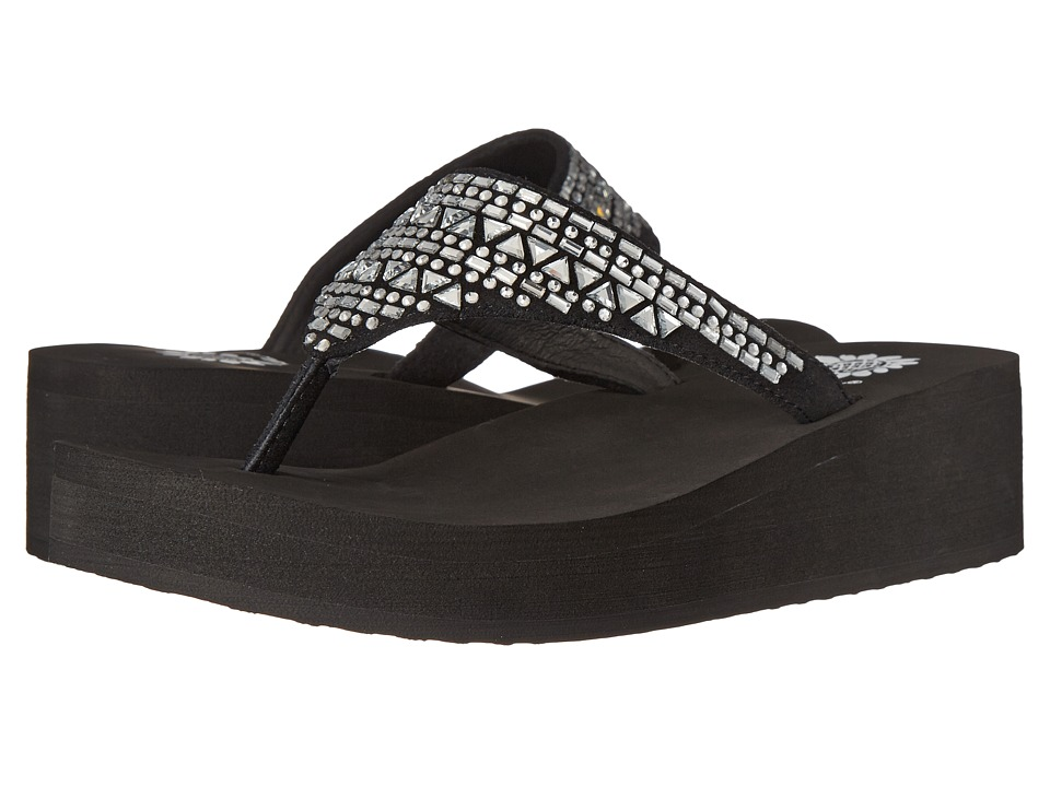 Yellow Box - Rebel (Black) Women's Sandals