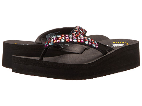 Yellow Box - Parita (Black Multi) Women's Sandals