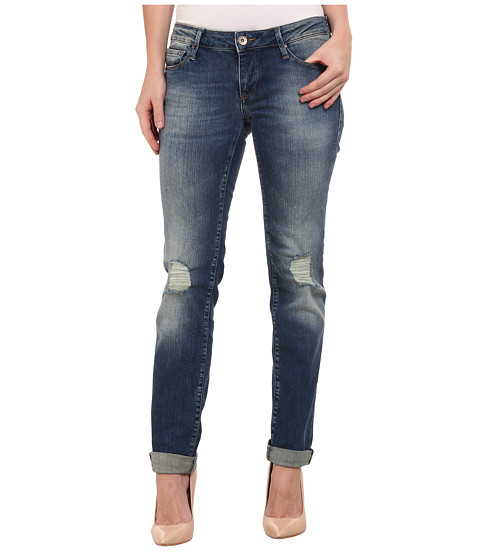 Mavi Jeans - Emma in Knee Ripped Vintage (Knee Ripped Vintage) Women's Jeans