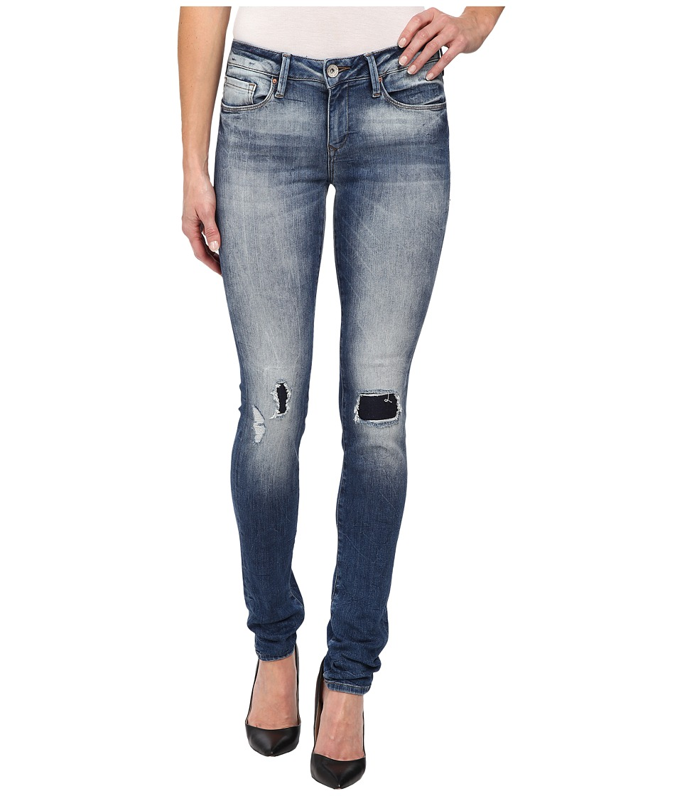 Mavi Jeans - Alexa in Mid Patched Vintage (Mid Patched Vintage) Women's Jeans