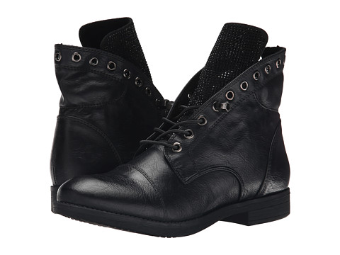 Yellow Box - Amp (Black) Women's Lace-up Boots
