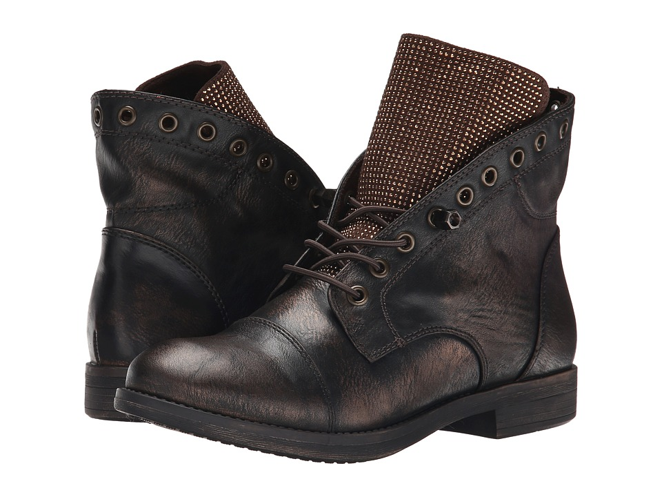Yellow Box - Amp (Bronze) Women's Lace-up Boots