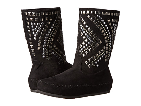 Yellow Box - Pyramid (Black) Women's Pull-on Boots