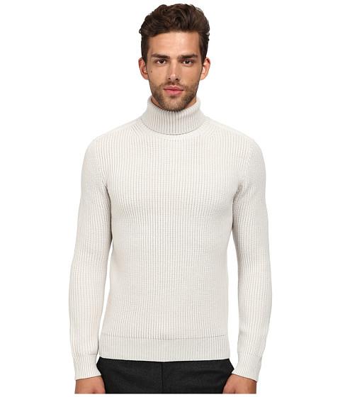 Theory - Ivo.Innka Sweater (White Stone) Men's Sweater