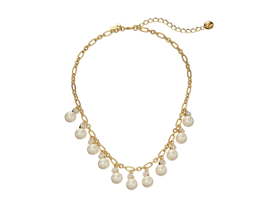 Kate Spade New York - Pearly Delight Necklace (Cream/Multi) Necklace