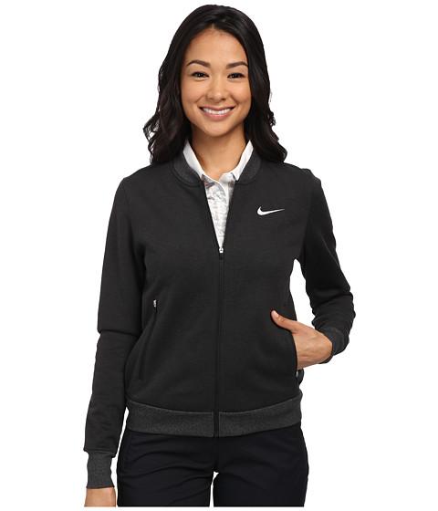 Nike Golf - Windblock Bomber (Black/Wolf Grey) Women