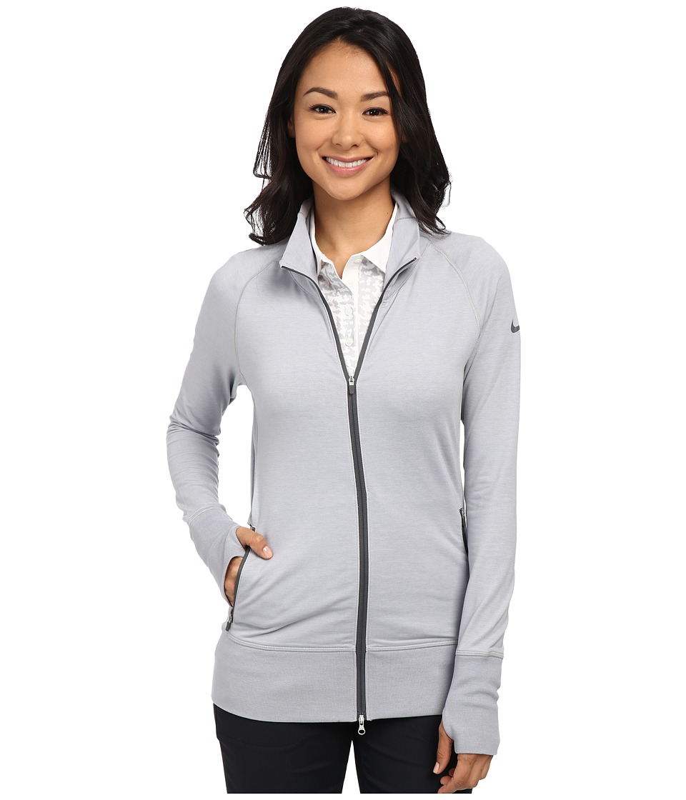 Nike Golf - Bunker Full Zip Jacket (Wolf Grey/Pure Platinum/Dark Grey) Women