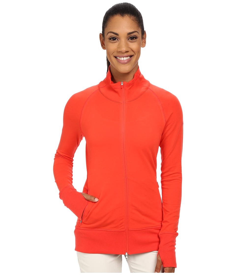 Nike Golf - Bunker Full Zip Jacket (Light Crimson/Ember Glow/Light Crimson) Women's Jacket