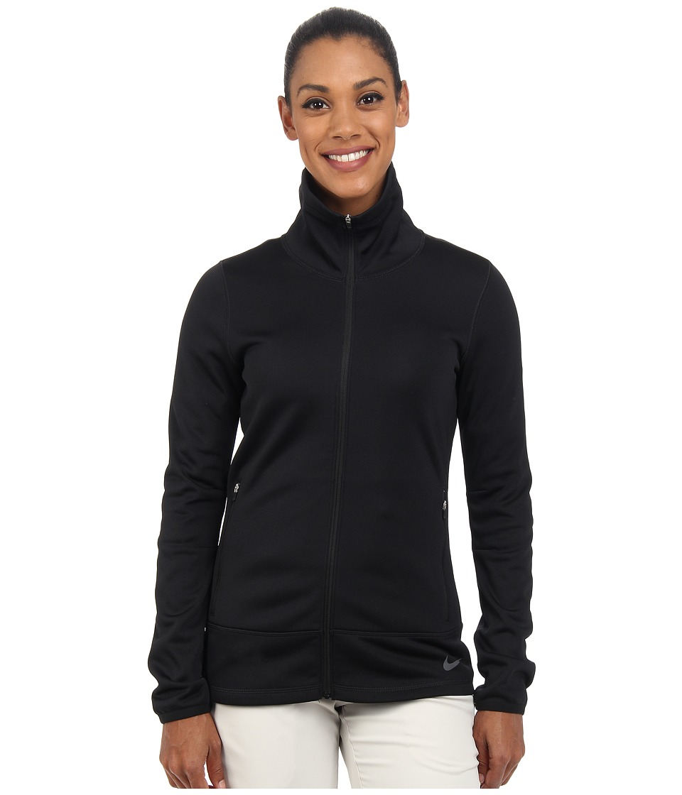 Nike Golf - Thermal Full Zip Jacket (Black/Black/Dark Grey) Women