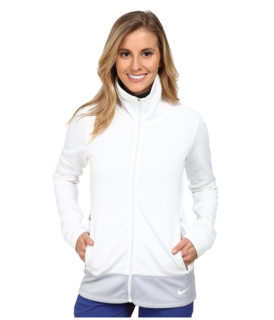 Nike Golf - Thermal Full Zip Jacket (White/White/White) Women's Jacket