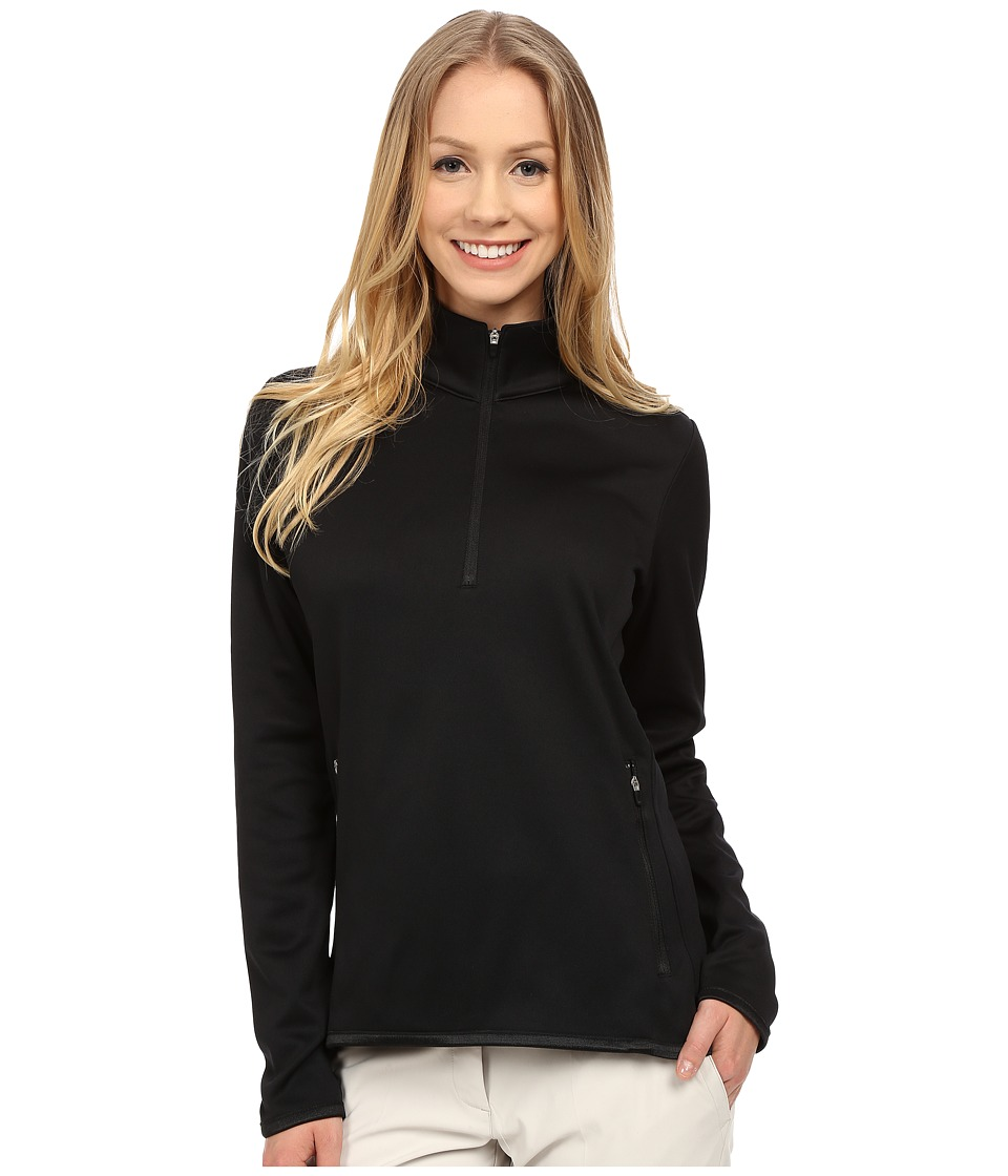 Nike Golf - Thermal 1/2 Zip (Black/Black/Wolf Grey) Women's Clothing