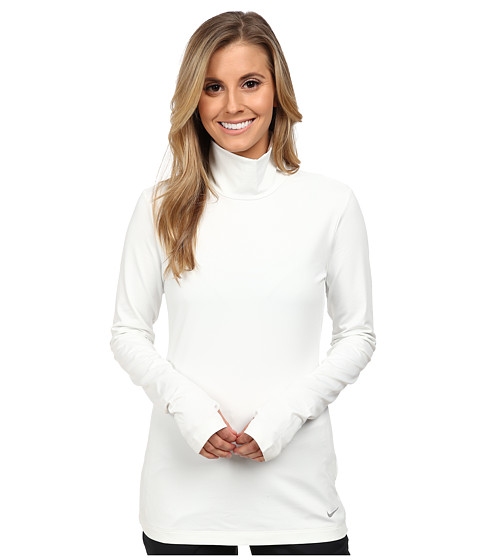 Nike Golf - Warm Mock Baselayer (Summit White/Reflect Silver) Women