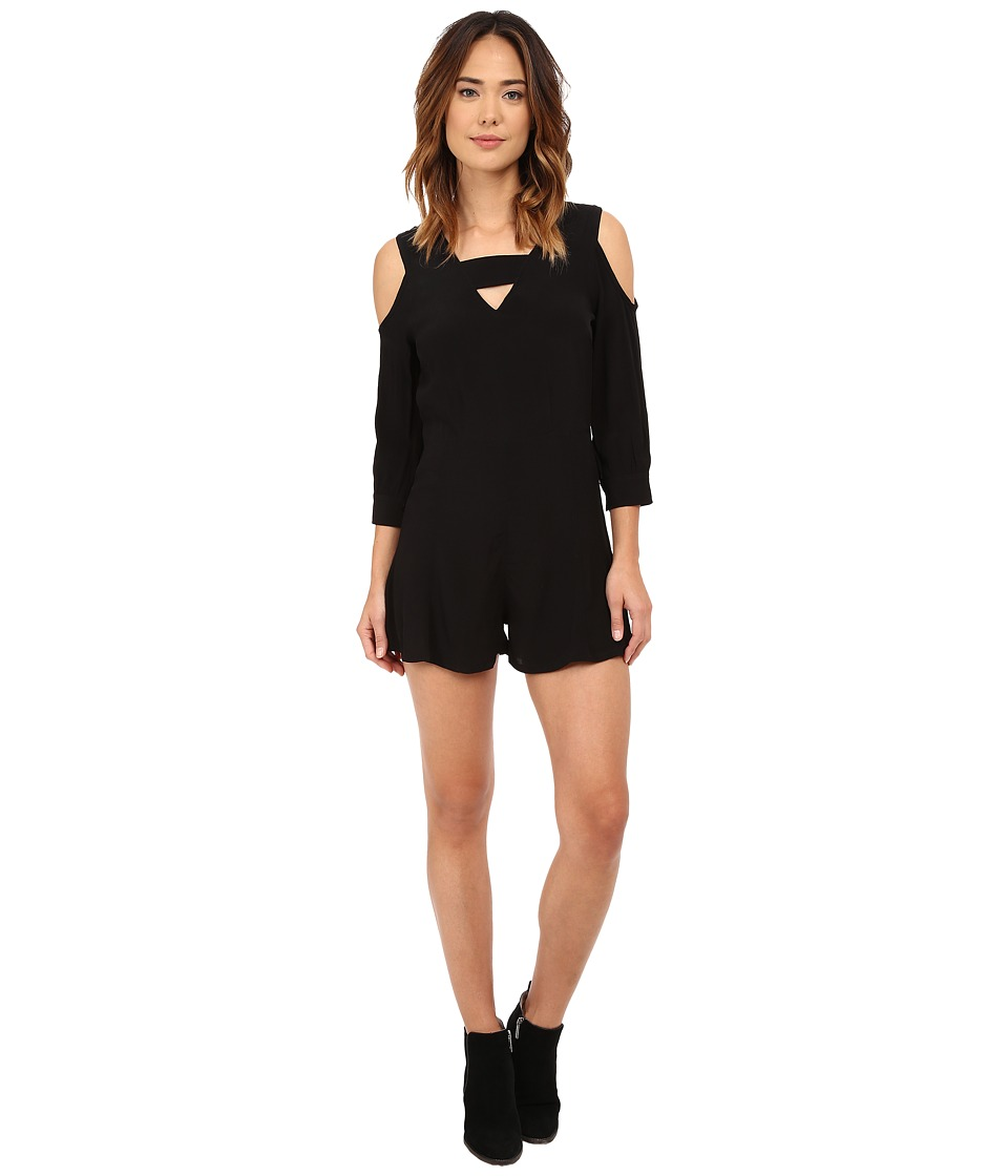 RVCA - Naomi Jumper (Black) Women's Jumpsuit & Rompers One Piece