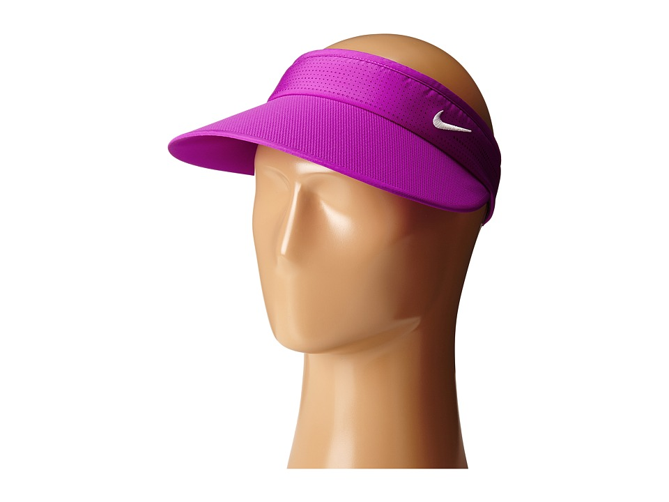Nike Golf - Big Bill Visor (Vivid Purple/Vivid Purple/White) Casual Visor