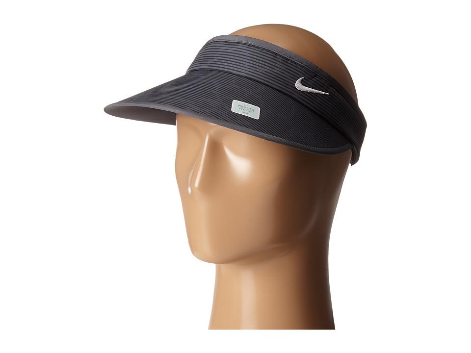 Nike Golf - Big Bill Camoanimal Visor (Dark Grey/Anthracite/White) Casual Visor