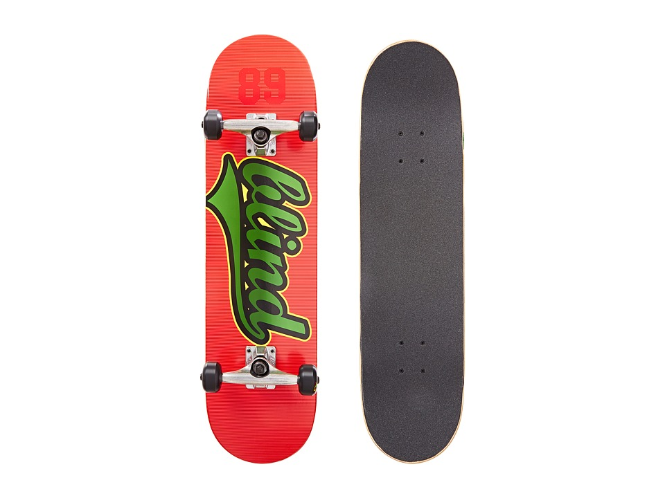 Blind - Athletic Skin V2 Complete (Red/Green) Skateboards Sports Equipment