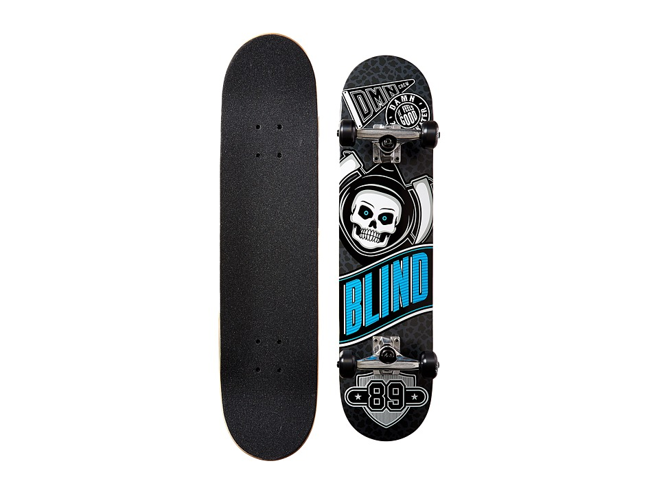 Blind - Reaper Crew Complete (Grey/Black) Skateboards Sports Equipment