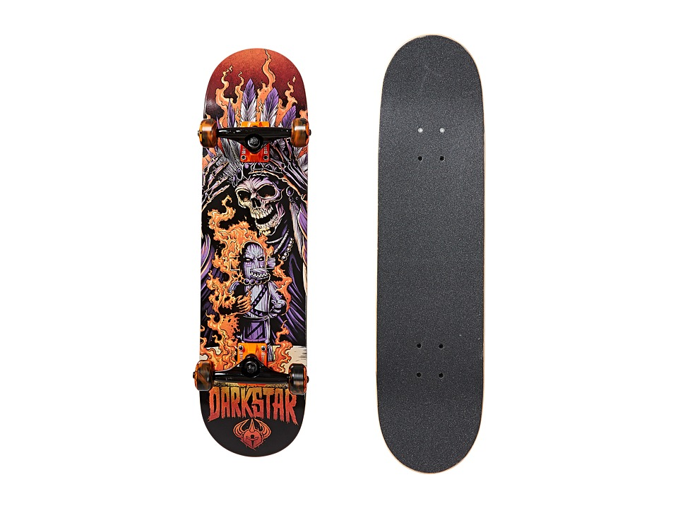 Darkstar - Torch Complete (Orange) Skateboards Sports Equipment