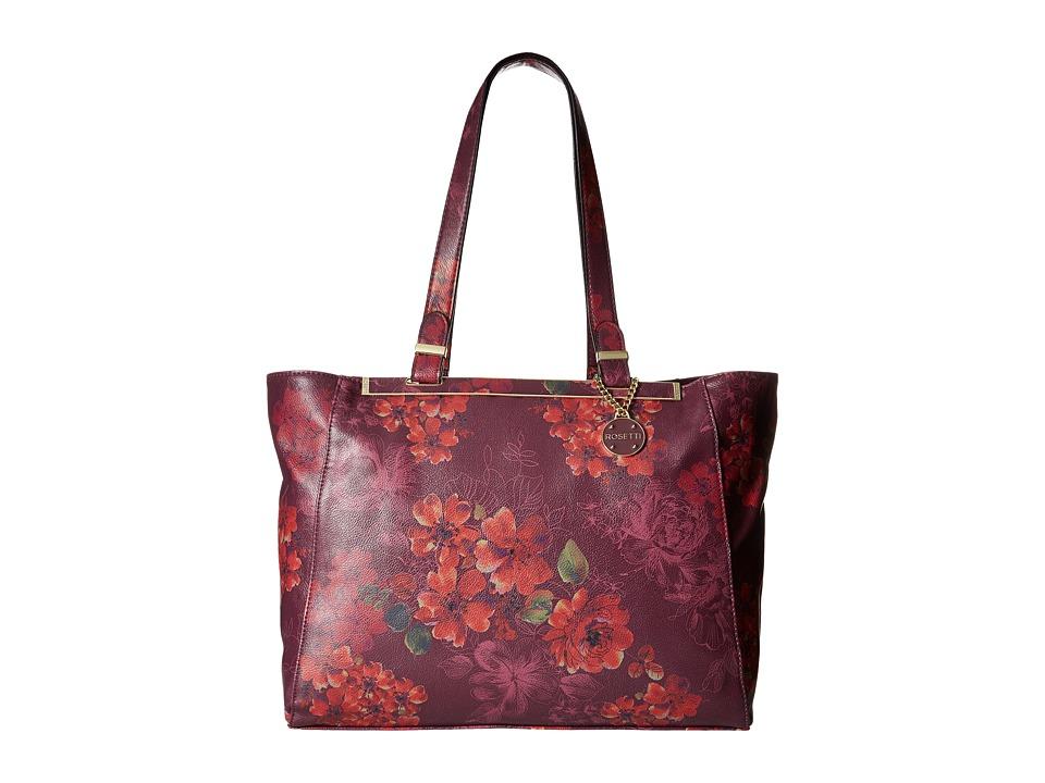 Rosetti - Drew Tote (Fleur Real Print) Tote Handbags