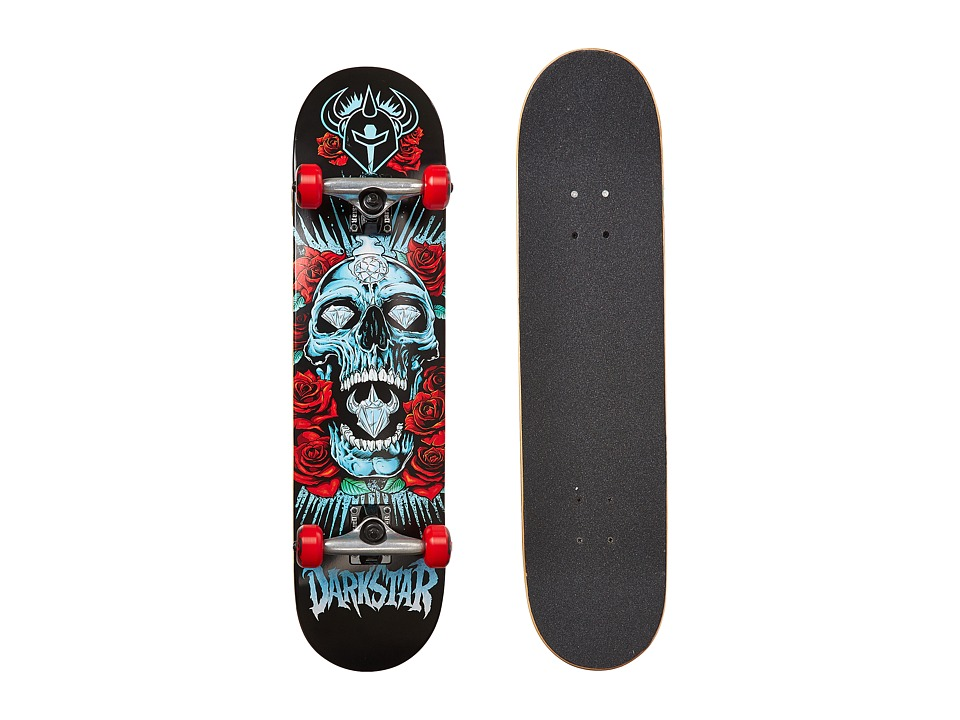 Darkstar - Roses Complete (Red) Skateboards Sports Equipment
