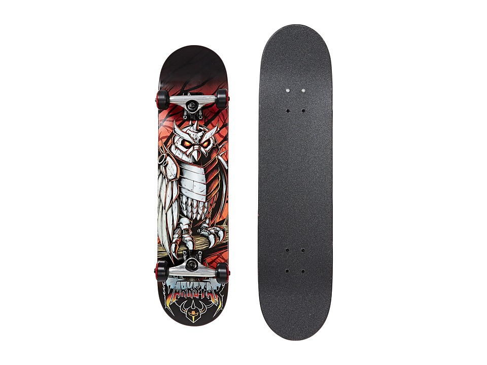 Darkstar - Nightowl Complete (Red) Skateboards Sports Equipment